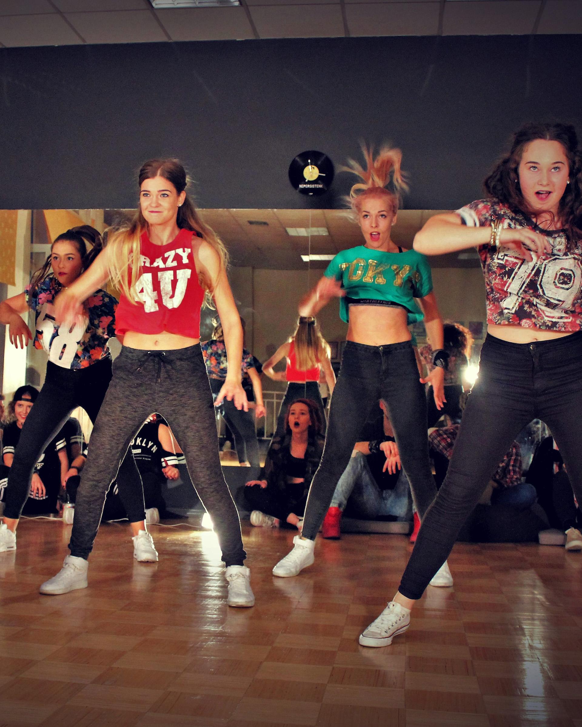 Open treniruotės | Pop dance